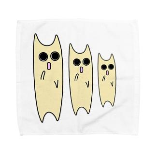 未確認生物3兄弟 Towel handkerchiefs