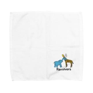 リボルバーズ丸谷 オフィシャルアイテムのリボルバーズ Towel handkerchiefs