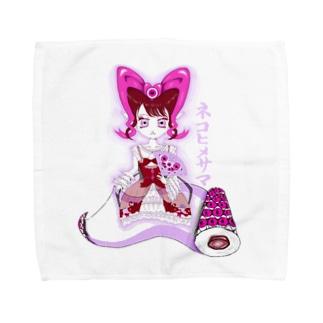 ฅ #ネコヒメサマ ฅ Towel handkerchiefs