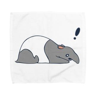 ばく Towel handkerchiefs