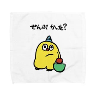 ぜんぶかった君 Towel handkerchiefs