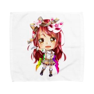 フリル Towel Handkerchief