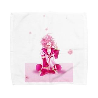 さくらレン Towel handkerchiefs