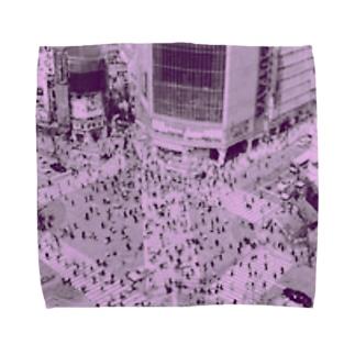 私の渋谷。 Towel handkerchiefs