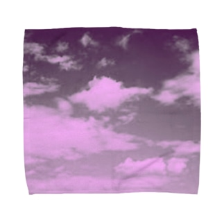 お空。 Towel handkerchiefs
