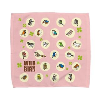 野鳥連合 Towel handkerchiefs