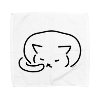 ふせねこ Towel handkerchiefs