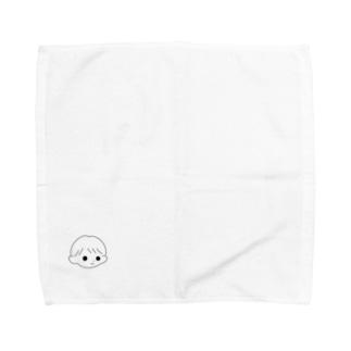 ペア画💞もぶくん Towel handkerchiefs