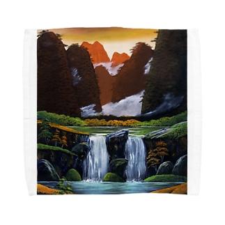 桂林の夕暮れ Towel handkerchiefs