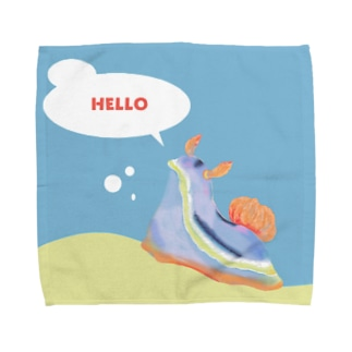 ウミウシシリーズ -コールマンウミウシ- Towel handkerchiefs