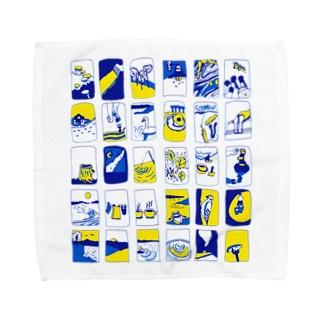 フィンランドのサマーコテージ Towel handkerchiefs