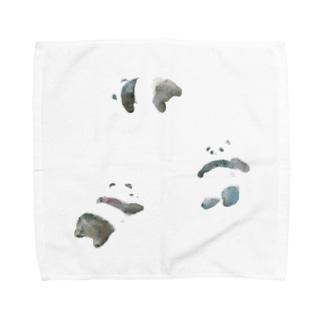 パンダちゃん Towel handkerchiefs
