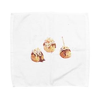 たこ焼き Towel handkerchiefs