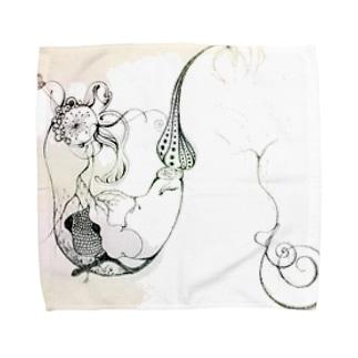 おはよう、世界。 Towel handkerchiefs