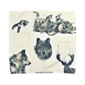 animal Towel handkerchiefs