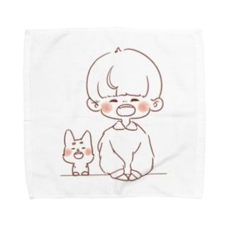 おやつ待ちたいむ Towel handkerchiefs