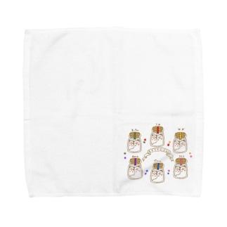 しろくまの瓶詰め Towel handkerchiefs