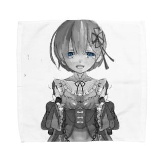 れむ Towel handkerchiefs