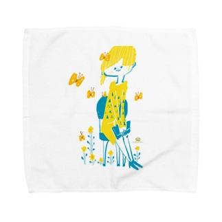 バタフライ Towel handkerchiefs