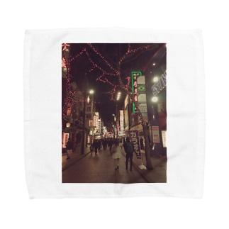 RAIMOON  中華街の素敵な一枚 Towel handkerchiefs