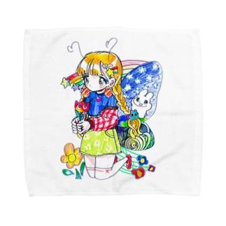【caution】colorful!! Towel handkerchiefs