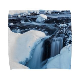 氷流 Towel handkerchiefs