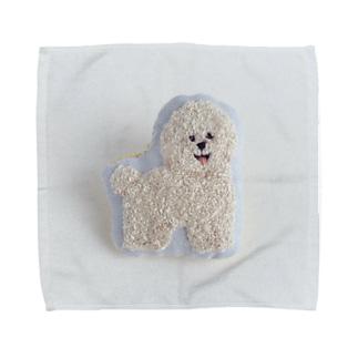 ビションフリーゼ Towel handkerchiefs