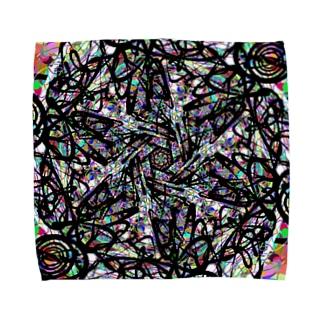 ゼンタングル(Zentangle)part1 Towel handkerchiefs