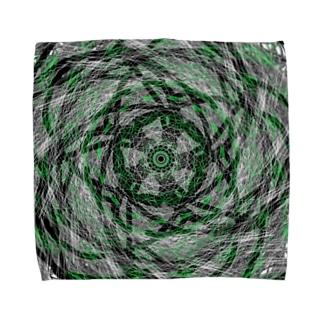 Zentangle-part3 Towel handkerchiefs