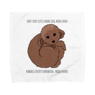 チャミドッグモアチャン Towel handkerchiefs