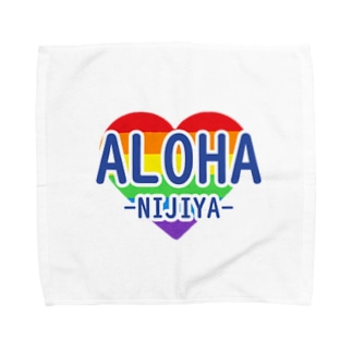 ALOHA-NIJIYA Towel handkerchiefs