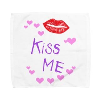 キスして! Towel handkerchiefs