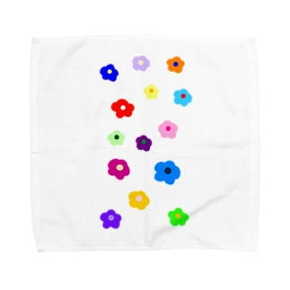 おはなちゃん Towel handkerchiefs