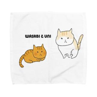 わさび&うに Towel handkerchiefs