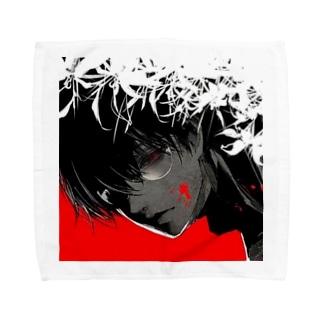 蝶くん Towel handkerchiefs