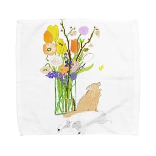 春猫 Towel handkerchiefs