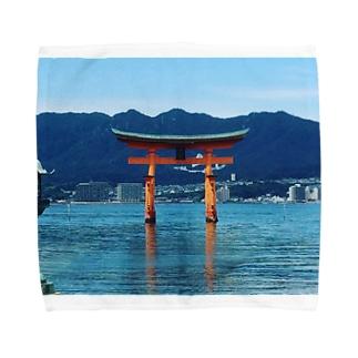 厳島神社 Towel handkerchiefs