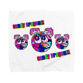 CANDY  Dragon Towel handkerchiefs