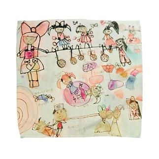 シャボン玉    Towel handkerchiefs