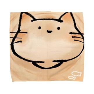 ばーむきゃっと Towel handkerchiefs