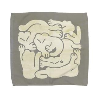 猫パズル Towel handkerchiefs