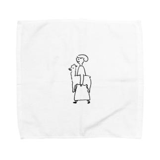 あるぱか Towel handkerchiefs