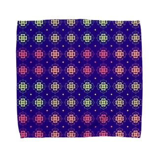 geometric pattern2 Towel handkerchiefs