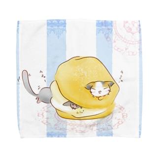 ふにゃん シュークリーム Towel handkerchiefs