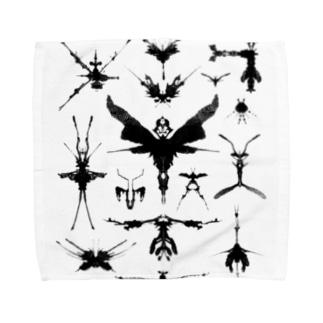 霧蛾夢虫01 Towel handkerchiefs