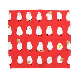 甘食とロロ Towel handkerchiefs