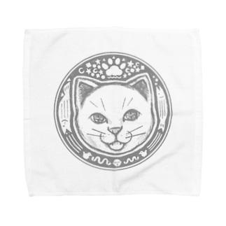 猫の世界 Towel handkerchiefs