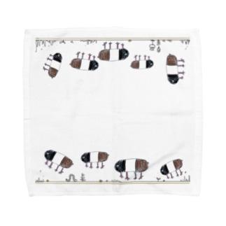 モルモット Towel handkerchiefs