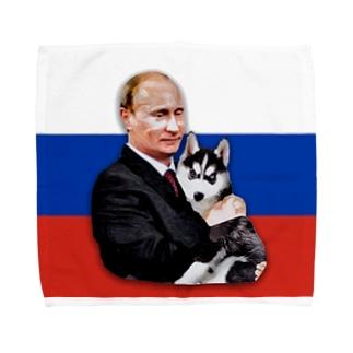 W Putin Towel handkerchiefs