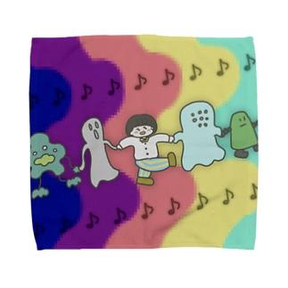 🎶みんななかよし🎶 Towel handkerchiefs